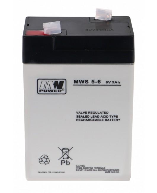 Batéria pre elektrické autíčka 6 V / 5 Ah